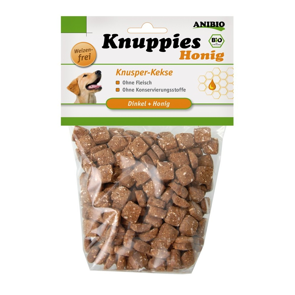 Anibio Knuppies Honig 160 g
