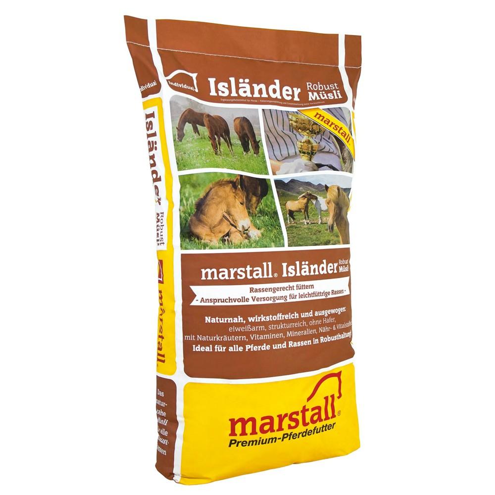 Marstall Individual-Linie Isländer Robust-Müsli 25 kg