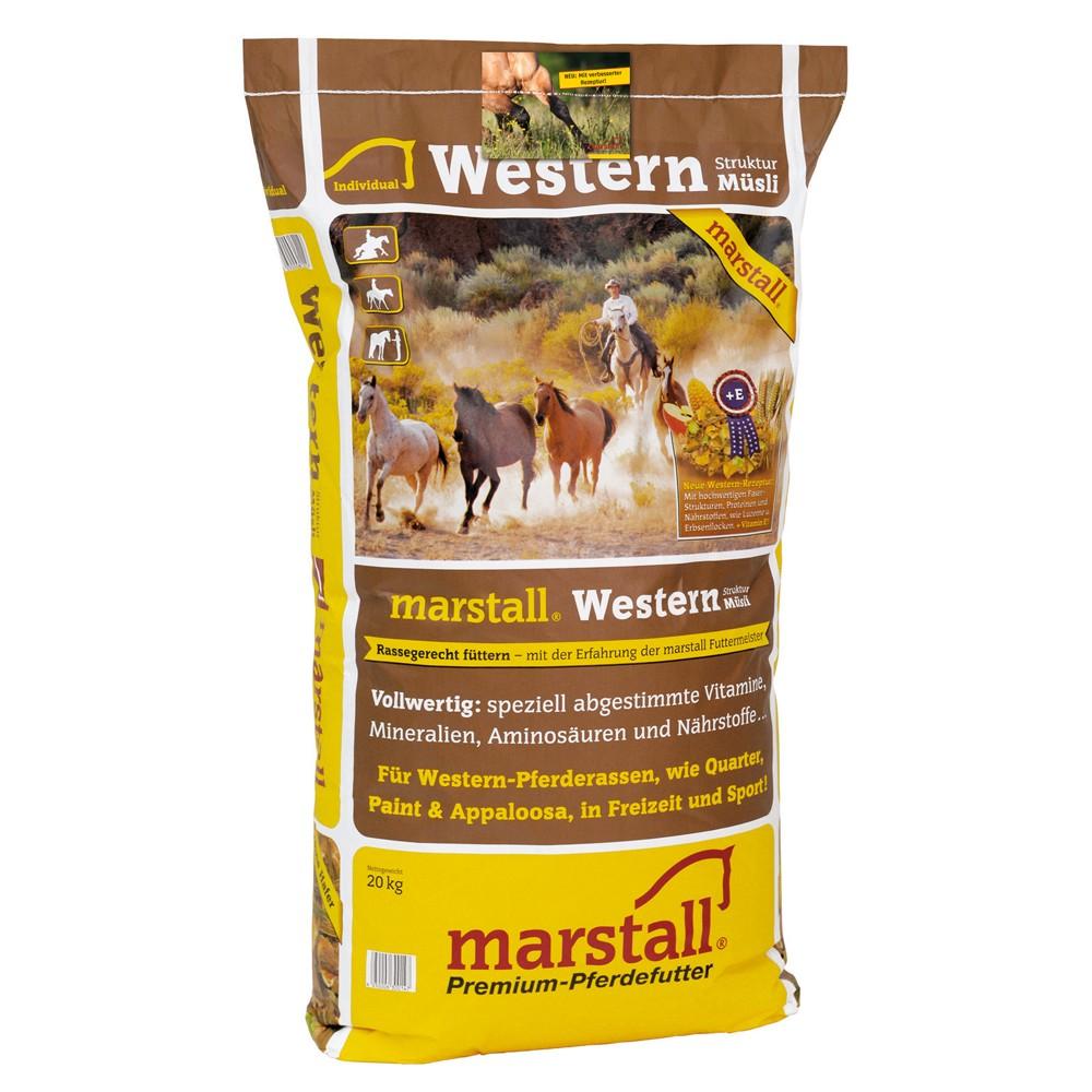 Marstall Individual-Linie Western Struktur-Müsli 20 kg