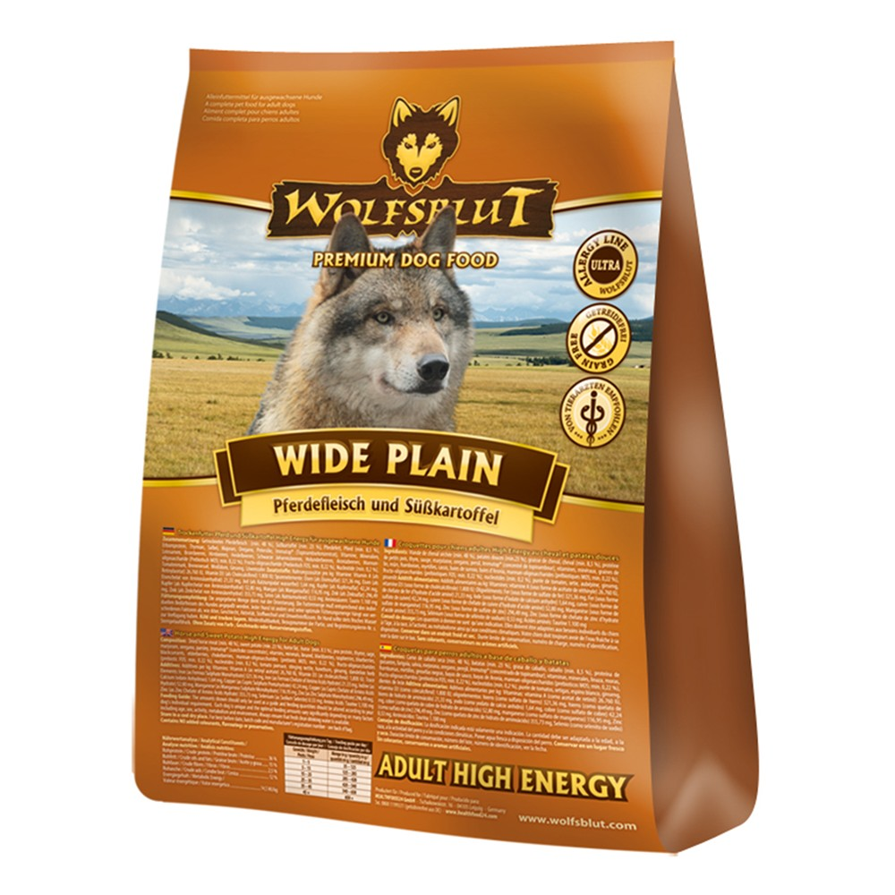 Wolfsblut Adult High Energy Wide Plain