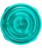 Dog Games Slo-Bowl Slow Feeder Drop Mini Caribbean Blue