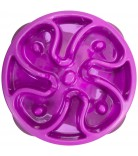 Dog Games Slo-Bowl Slow Feeder Flower Mini Mulberry