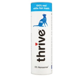 Petproject Cat Thrive Treats 100 % White Fish 15 g