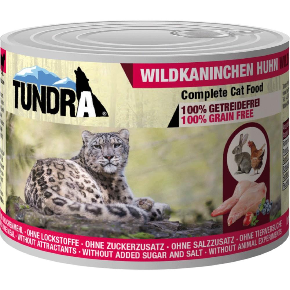 Tundra Cat Wildkaninchen & Huhn