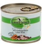 LandFleisch Cat Schlemmertopf Geflügelherzen & Wild