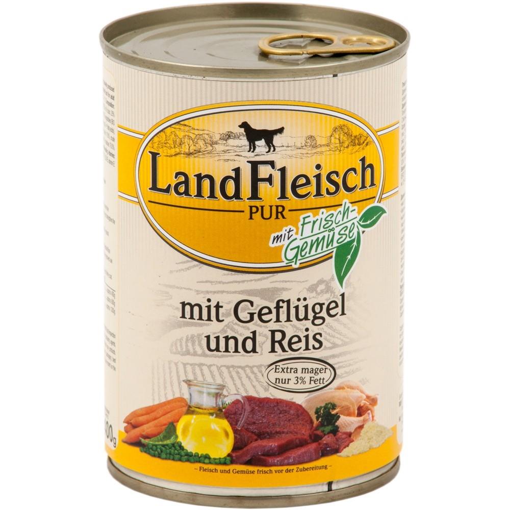 LandFleisch Dog Geflügel & Reis