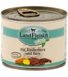 LandFleisch Dog Rinderherz & Reis