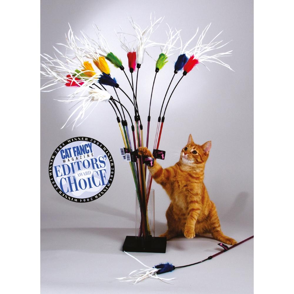 Vee Enterprises PURRfect Feather Bouncer Cat Toy