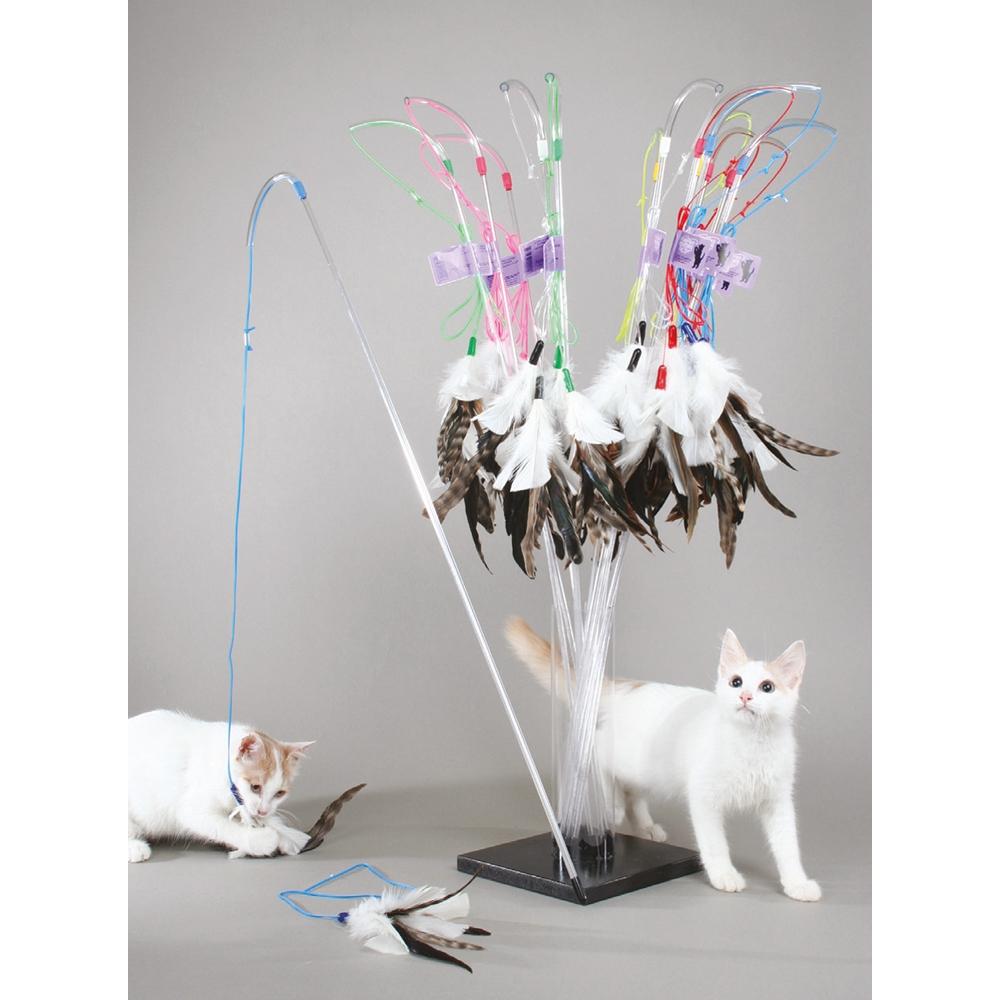 Vee Enterprises PURRfect Feather Cat Toy