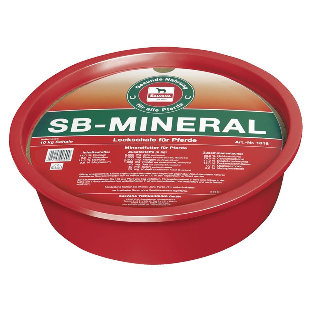 Salvana SB-Mineral Leckschale für Pferde 10kg