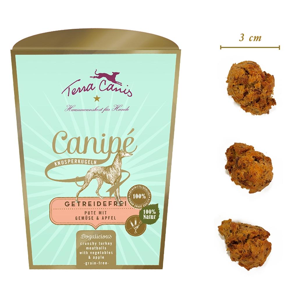 Terra Canis Canipé Sensitive Pute, Gemüse & Apfel 200 g