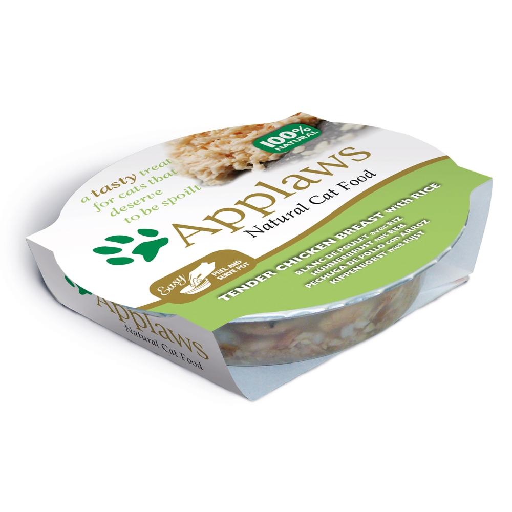 Applaws Cat Pot Hühnchenbrust & Reis 60 g