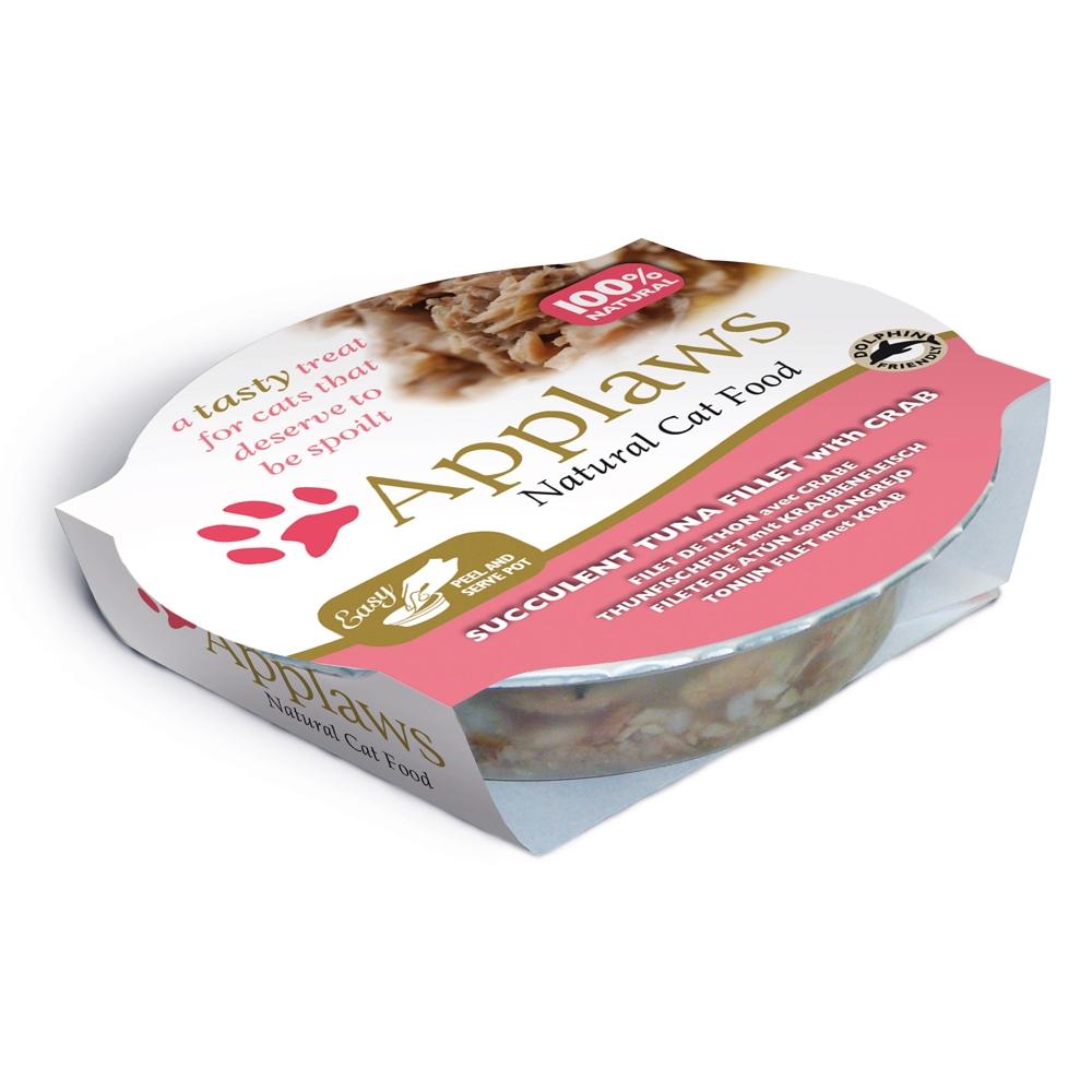 Applaws Cat Pot Thunfischfilets & Krabbe 60g