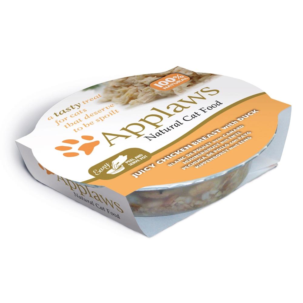 Applaws Cat Pot Hühnerbrust & Ente 60 g