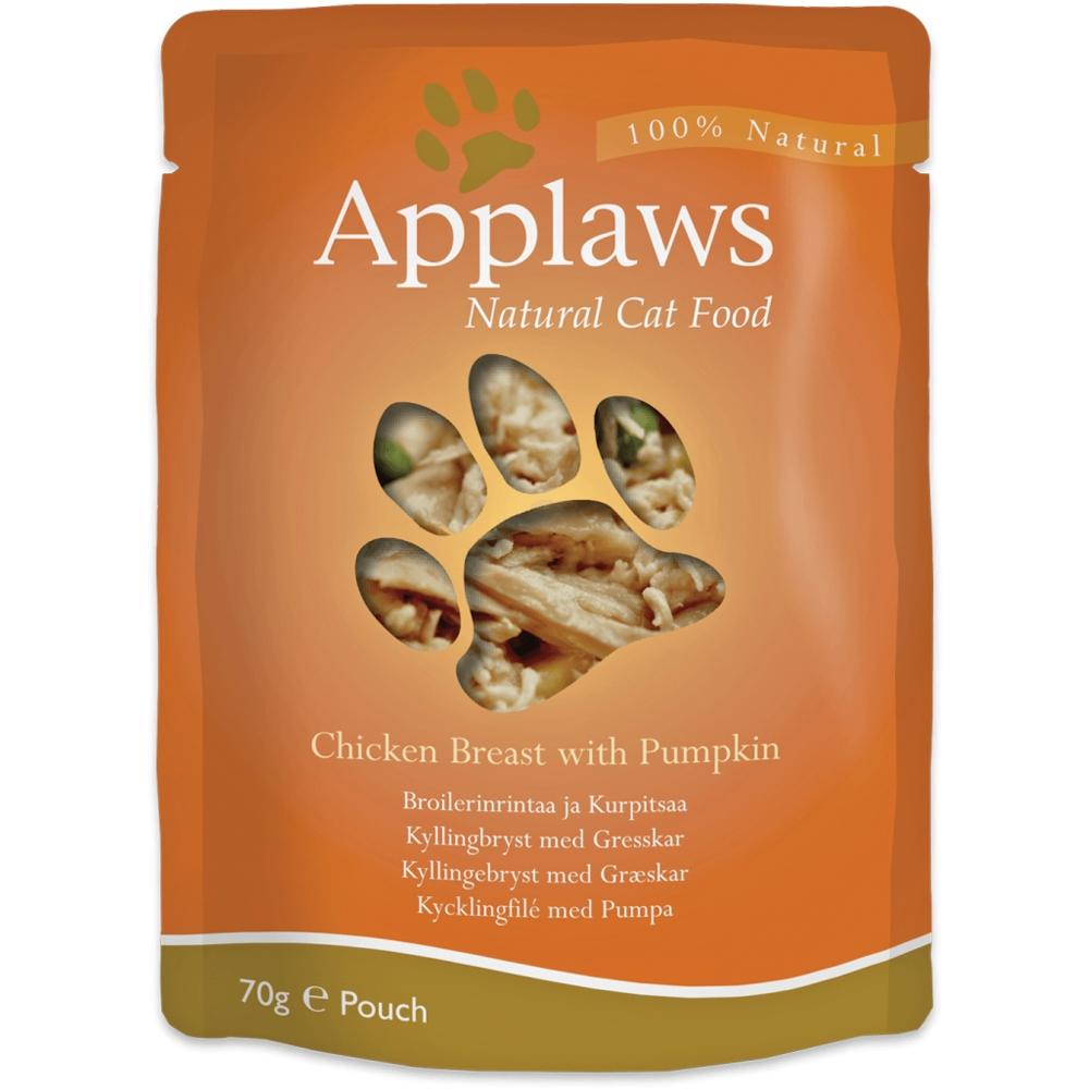 Applaws Cat Adult Hühnchenbrust & Kürbis 70 g