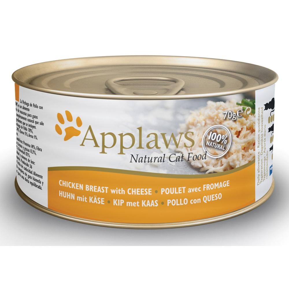 Applaws Cat Adult Hühnchenbrust & Käse