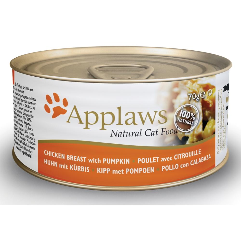 Applaws Cat Adult Hühnchenbrust & Kürbis