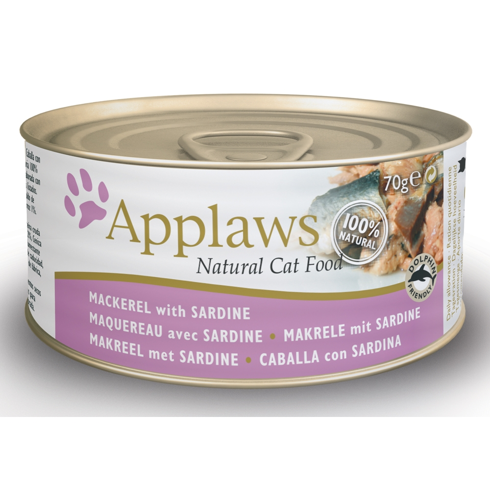 Applaws Cat Adult Makrele & Sardinen 70 g