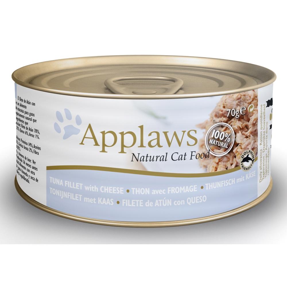 Applaws Cat Adult Thunfischfilets & Käse