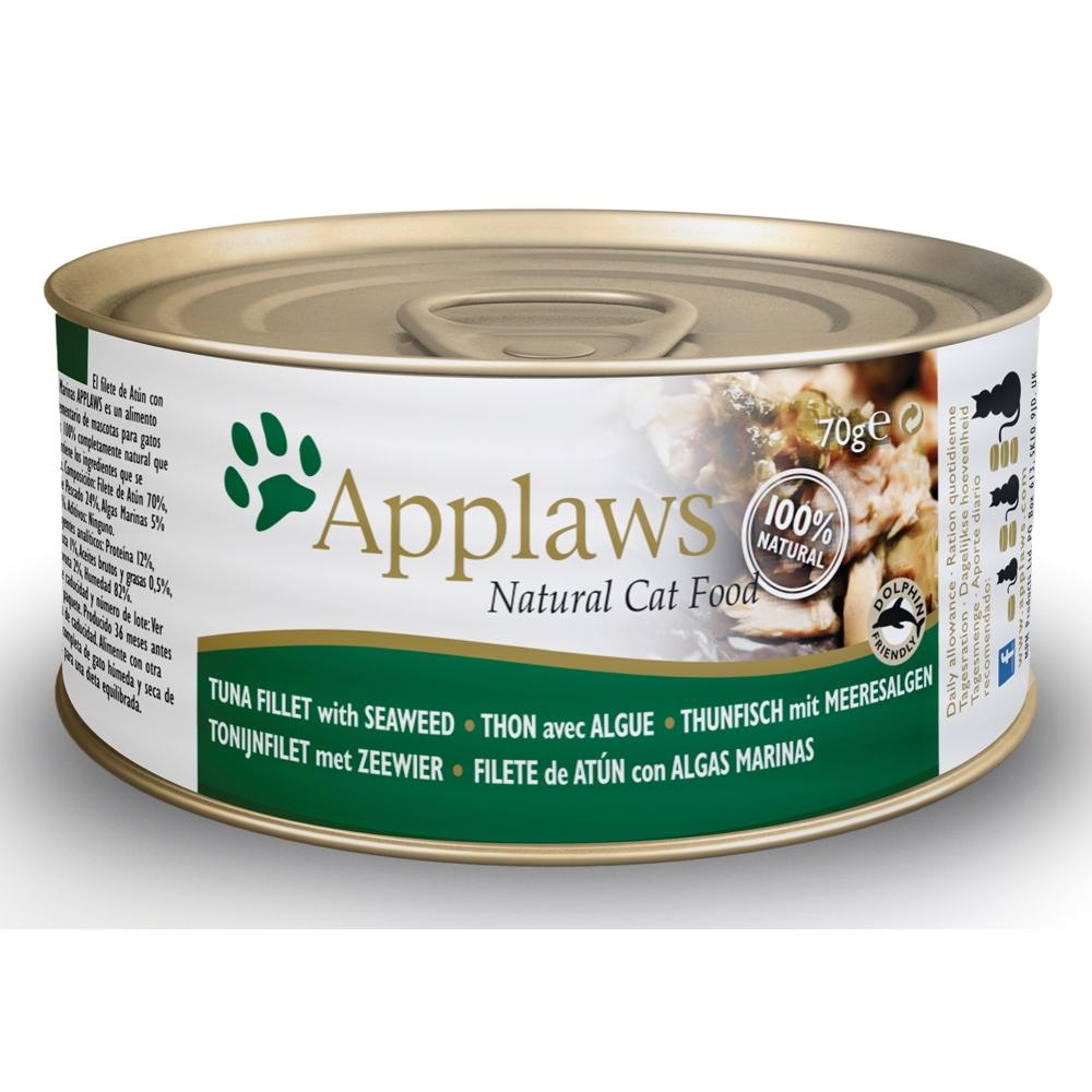 Applaws Cat Adult Thunfischfilets & Meeresalgen