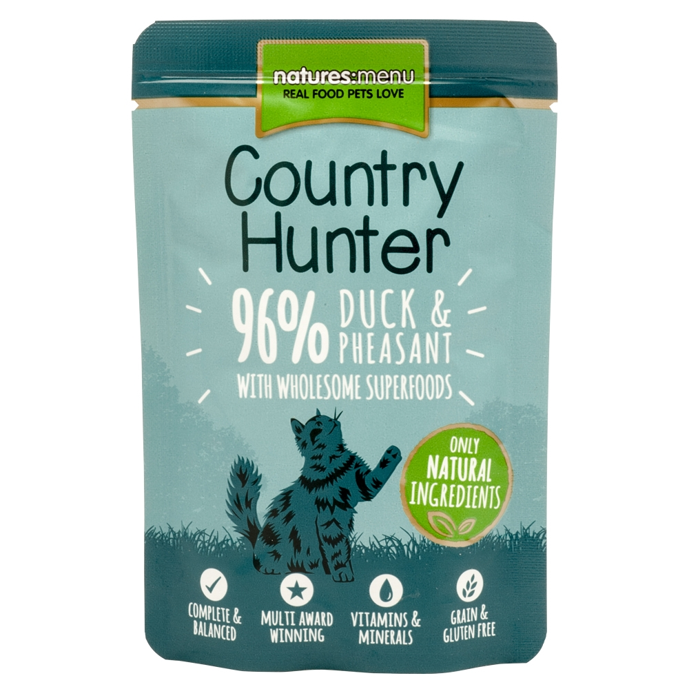 Natures Menu Cat Country Hunter Ente & Fasan 85 g
