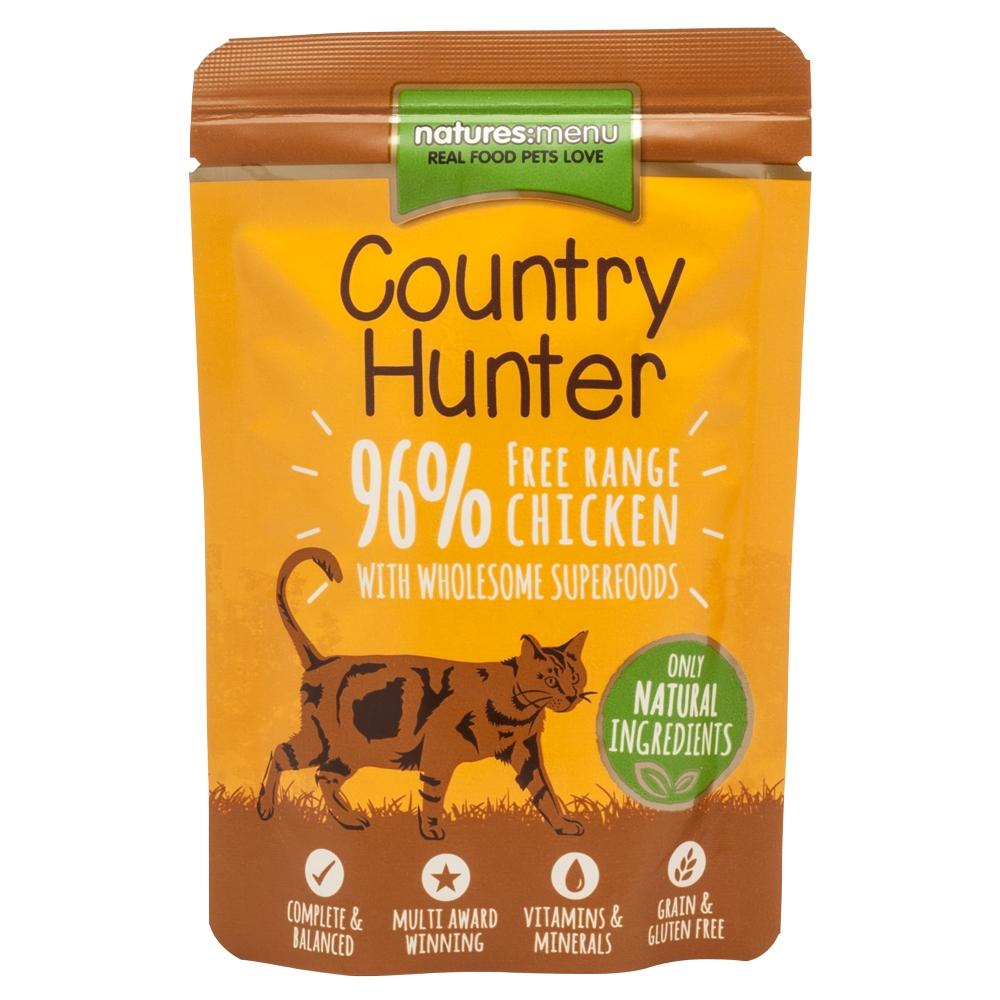 Natures Menu Cat Country Hunter Freilandhuhn 85 g