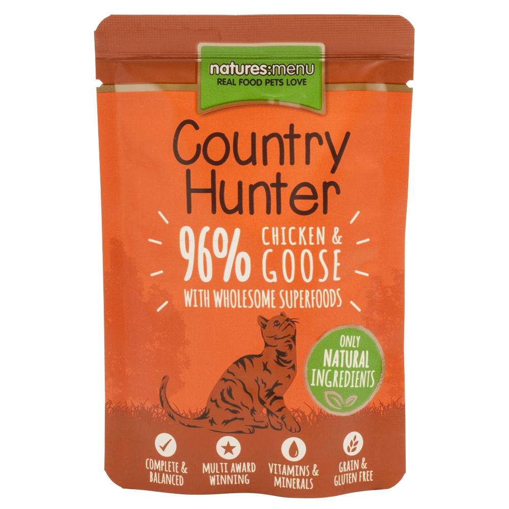 Natures Menu Cat Country Huhn & Gans 85 g