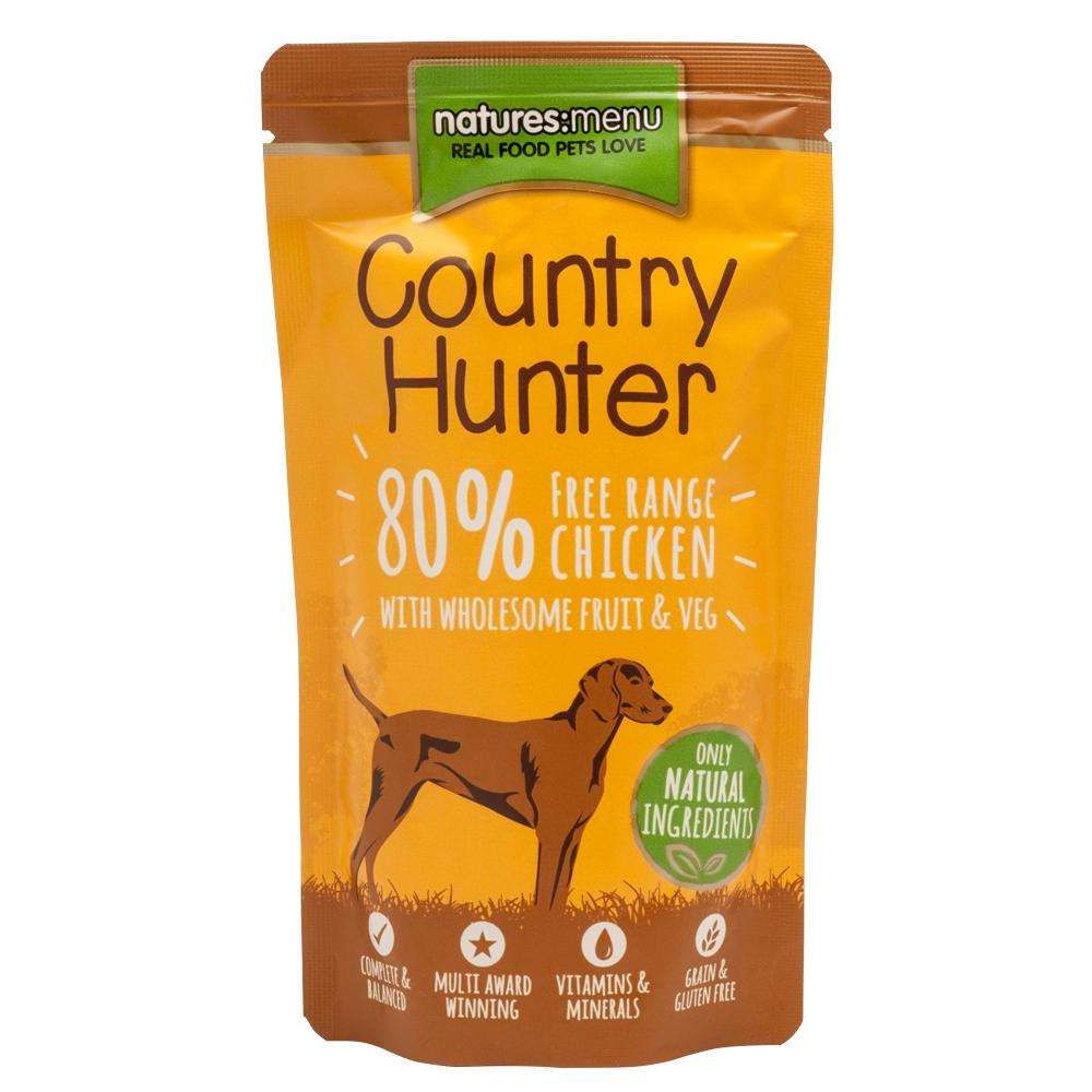 Natures Menu Dog Country Hunter Freilandhuhn 150g