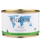 Biopur Dog Welpen Rind, Reis & Karotten 400g
