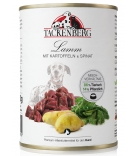 Tackenberg Premium Lamm, Kartoffeln & Spinat 400g