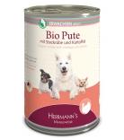 Herrmann's Dog Selection Bio-Pute mit Wurzelgemüse, Kartoffeln & Fenchel