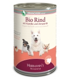 Herrmann's Dog Selection Bio-Rind mit Karotten, Amaranth & Sellerie
