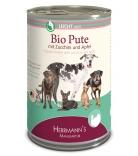 Herrmann's Dog Selection Leicht Bio-Pute mit Zucchini & Apfel