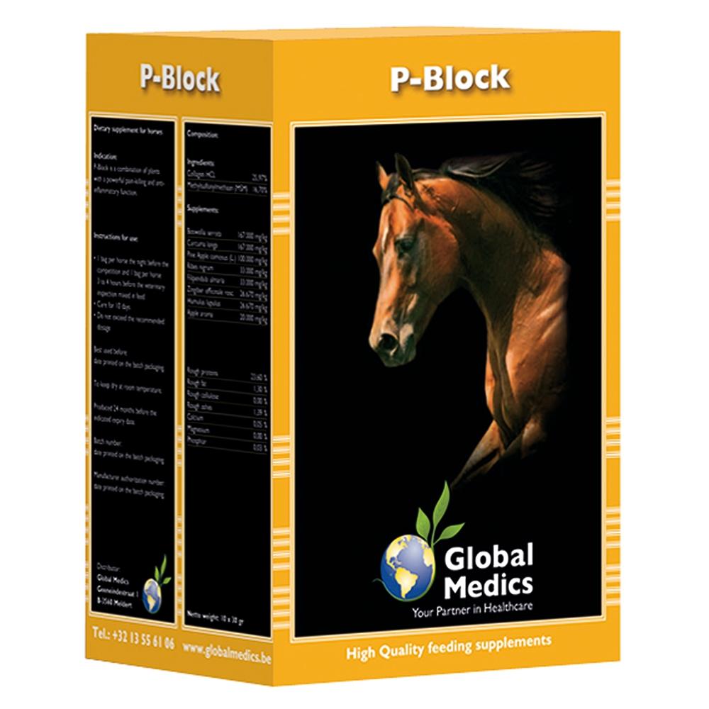 Global Medics P-Block 10x 30g