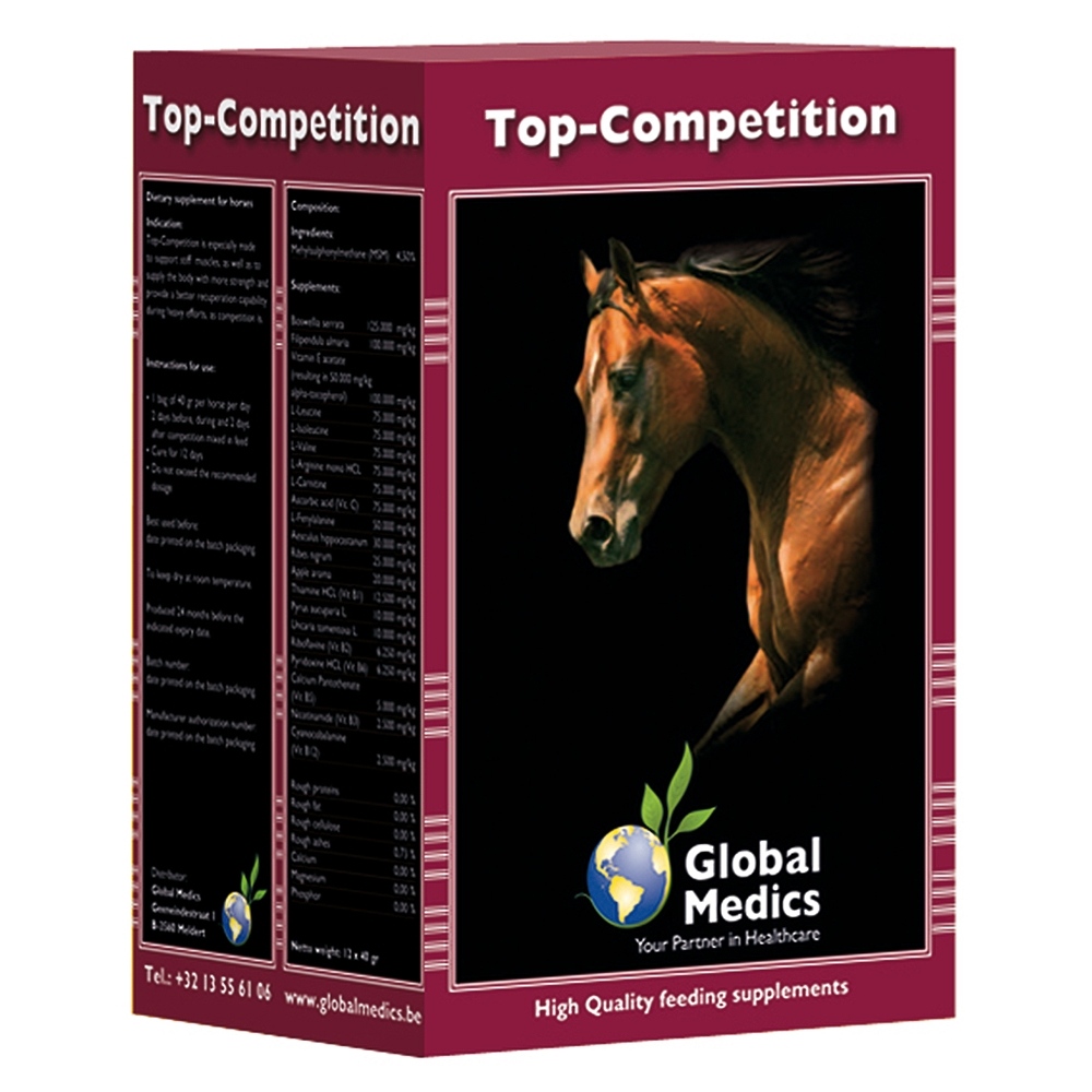 Global Medics Top-Competition 12x 40g