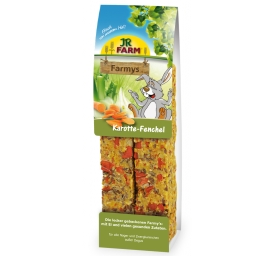 JR Farm Farmy's Karotte & Fenchel 160g