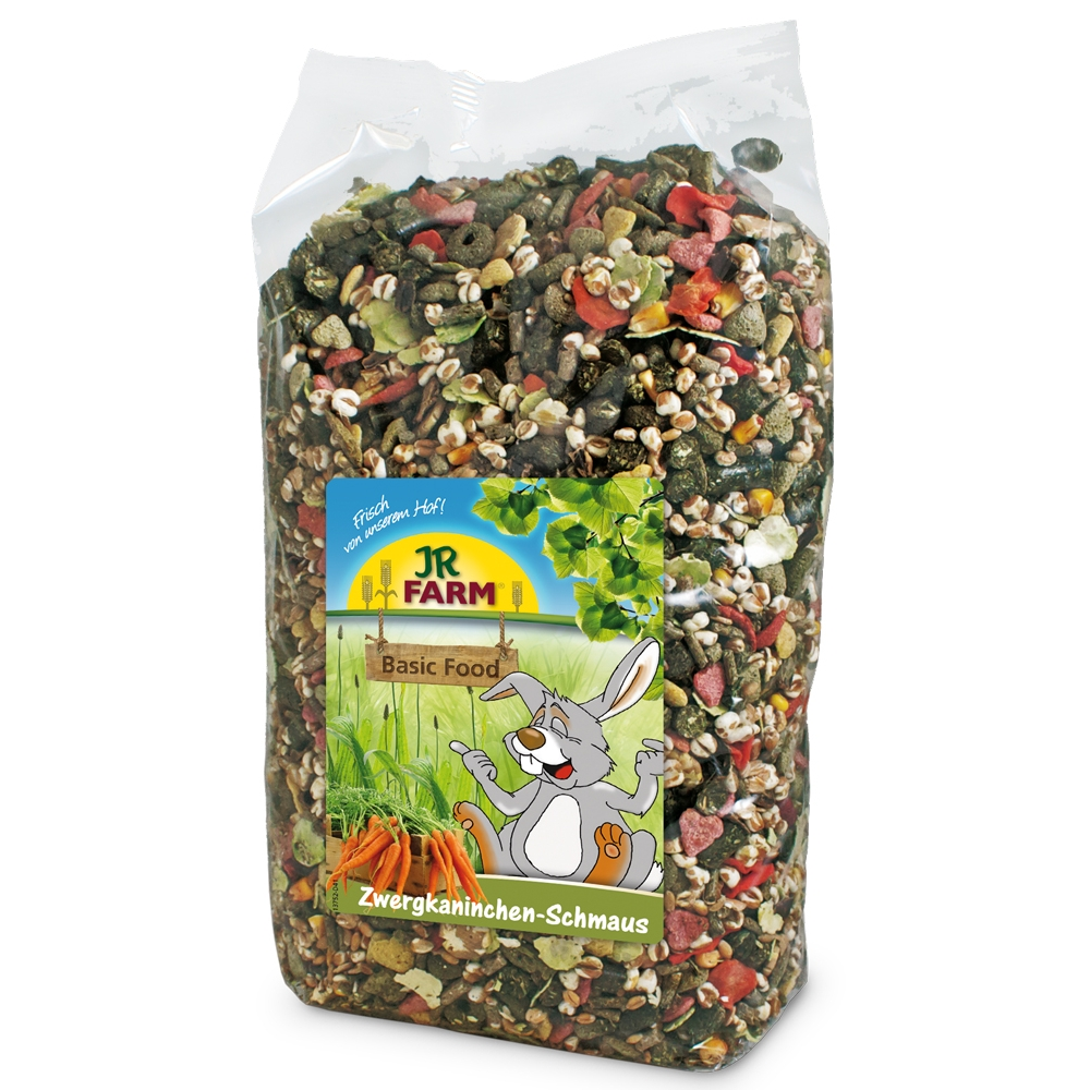 JR Farm Zwergkaninchen-Schmaus 2,5kg