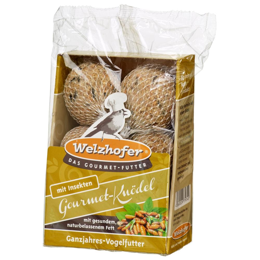"""Welzhofer Gourmet-Knödel """"Mit Insekten"""" 6x 100g"""