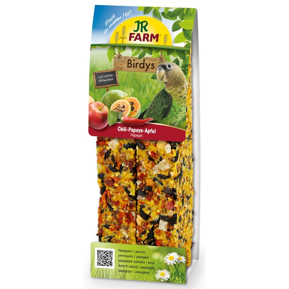 JR Farm Birdys Chili-Papaya-Apfel 260g