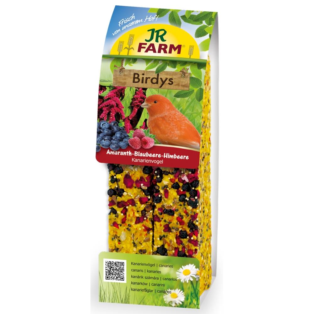JR Farm Birdys Amaranth-Blaubeere-Himbeere 130g