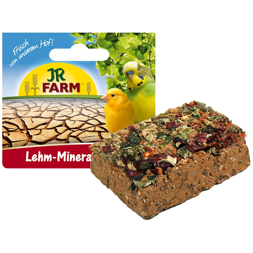 JR Farm Lehm-Mineral Pickstein 75g