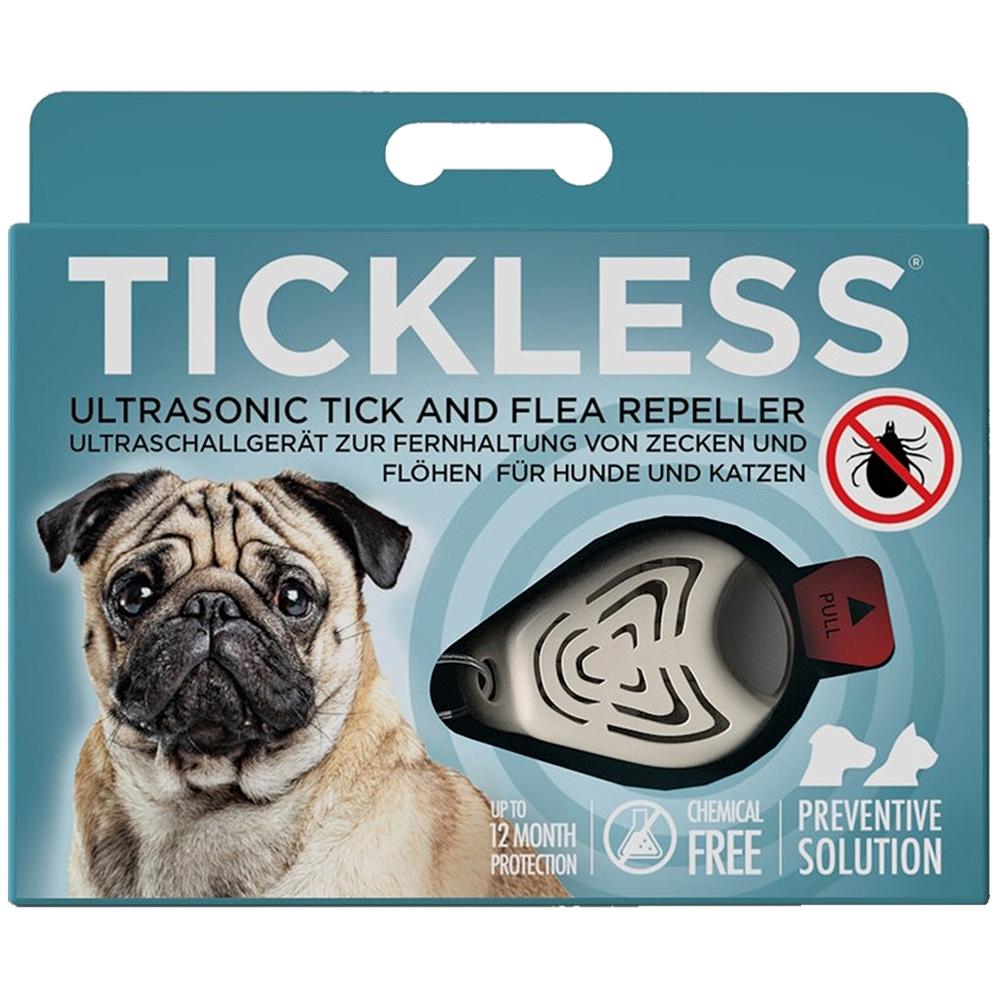 Tickless Ultrasonic Tick and Flea Repeller
