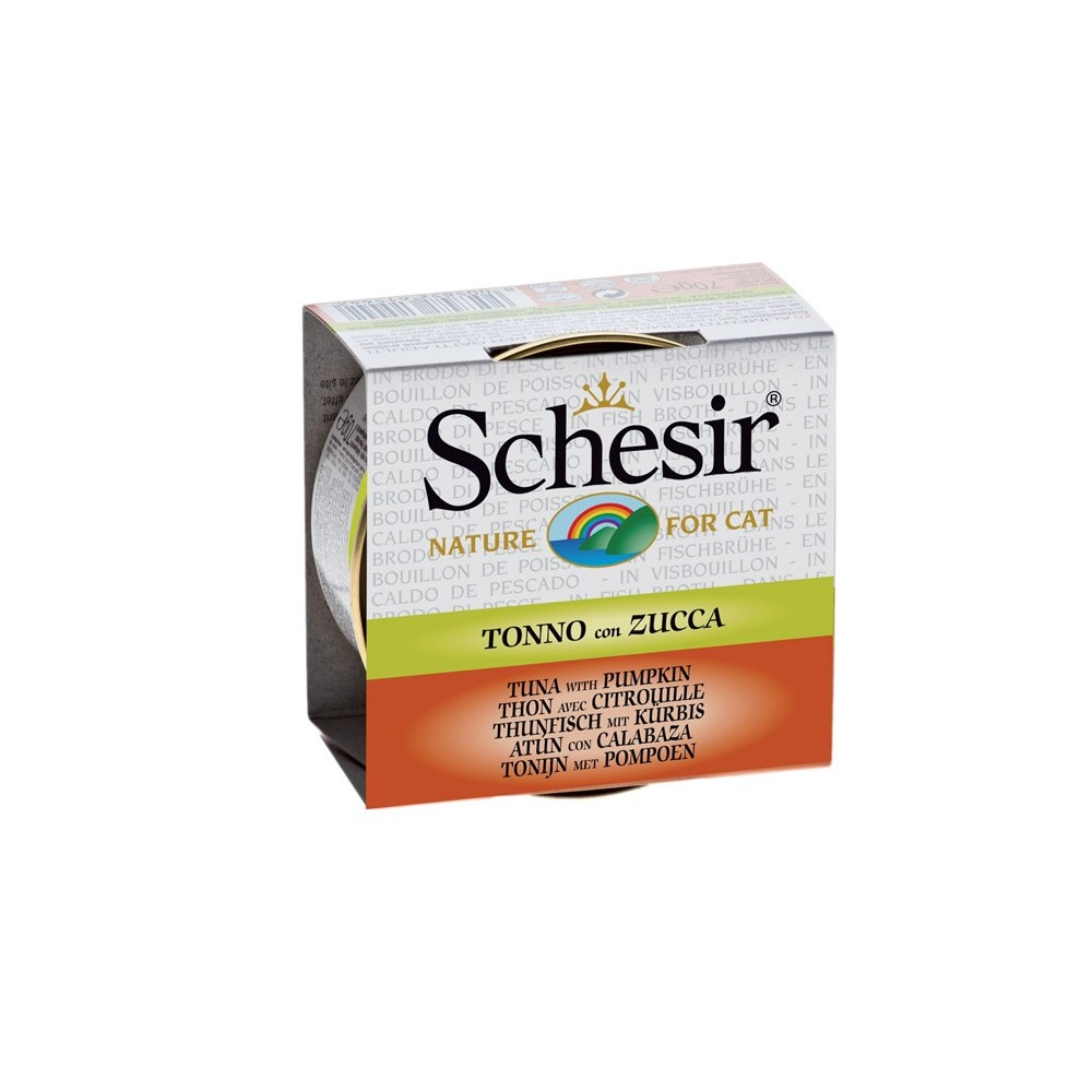 Schesir Cat Brühe Thunfisch & Kürbis 70 g