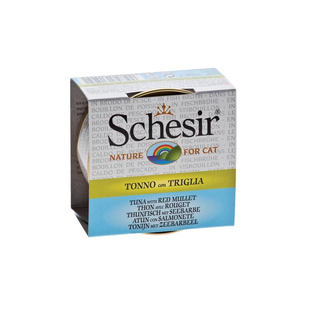 Schesir Cat Brühe Thunfisch & Seebarbe 70 g