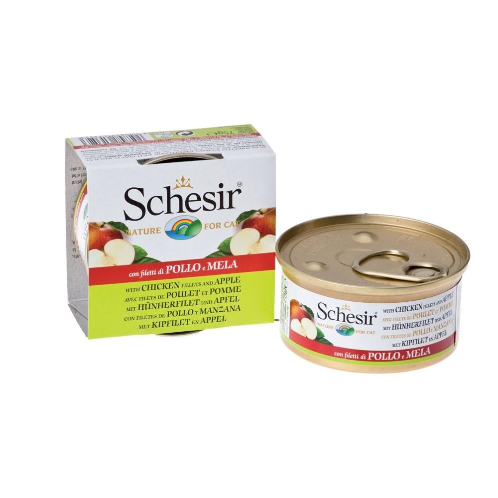 Schesir Cat Fruit Hühnerfilet & Apfel 75 g