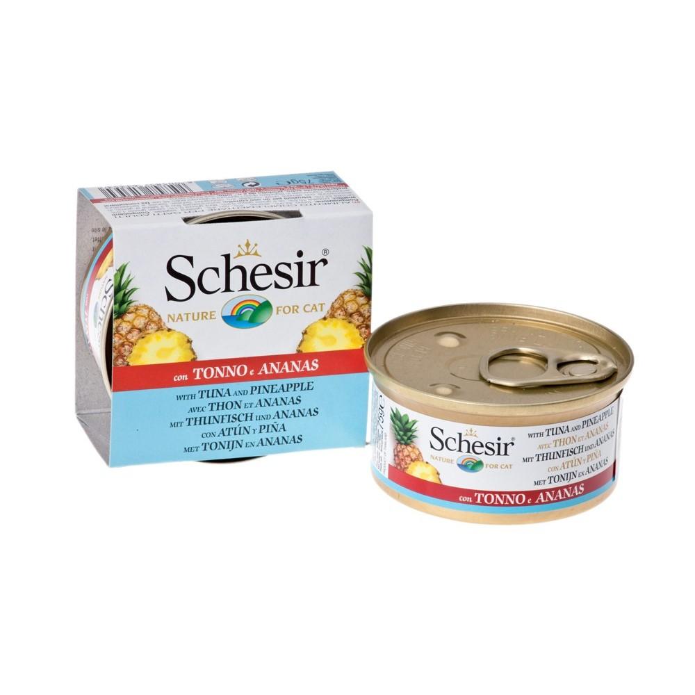 Schesir Cat Fruit Thunfisch & Ananas 75 g