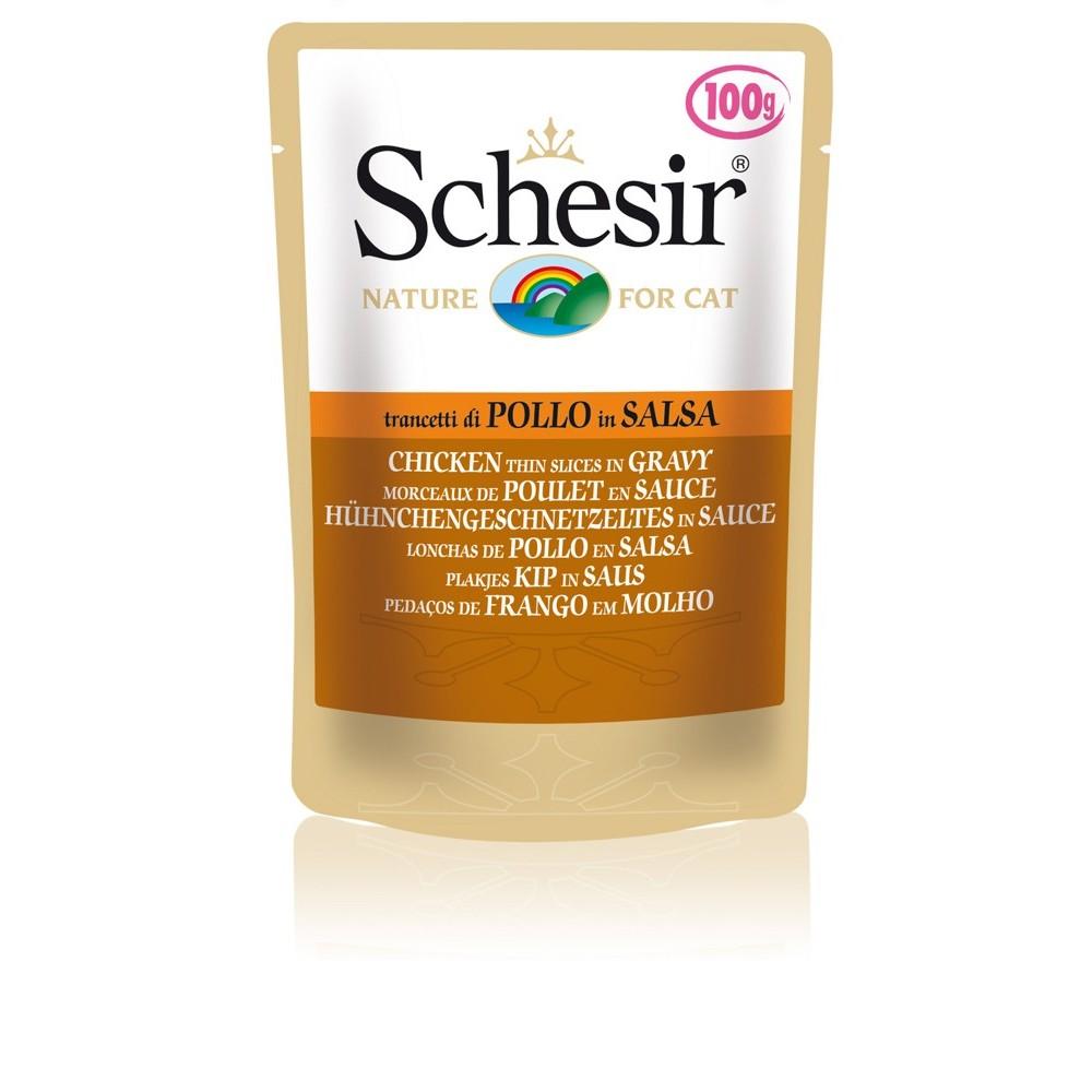 Schesir Cat Gelee Adult Hühnchengeschnetzeltes in Sauce 100 g