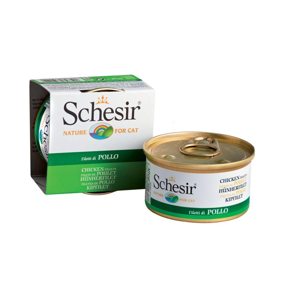 Schesir Cat Gelee Adult Hühnerfilet 85 g