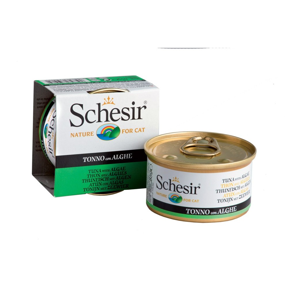 Schesir Cat Gelee Adult Thunfisch & Algen 85 g