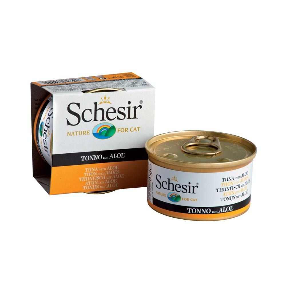 Schesir Cat Gelee Adult Thunfisch & Aloe 85 g